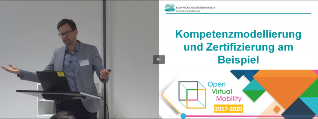 Talk on Competencies at eLearning Symp Potsdam 2018