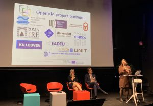 Photos of OpenVM presentationat ePic Conference 2019