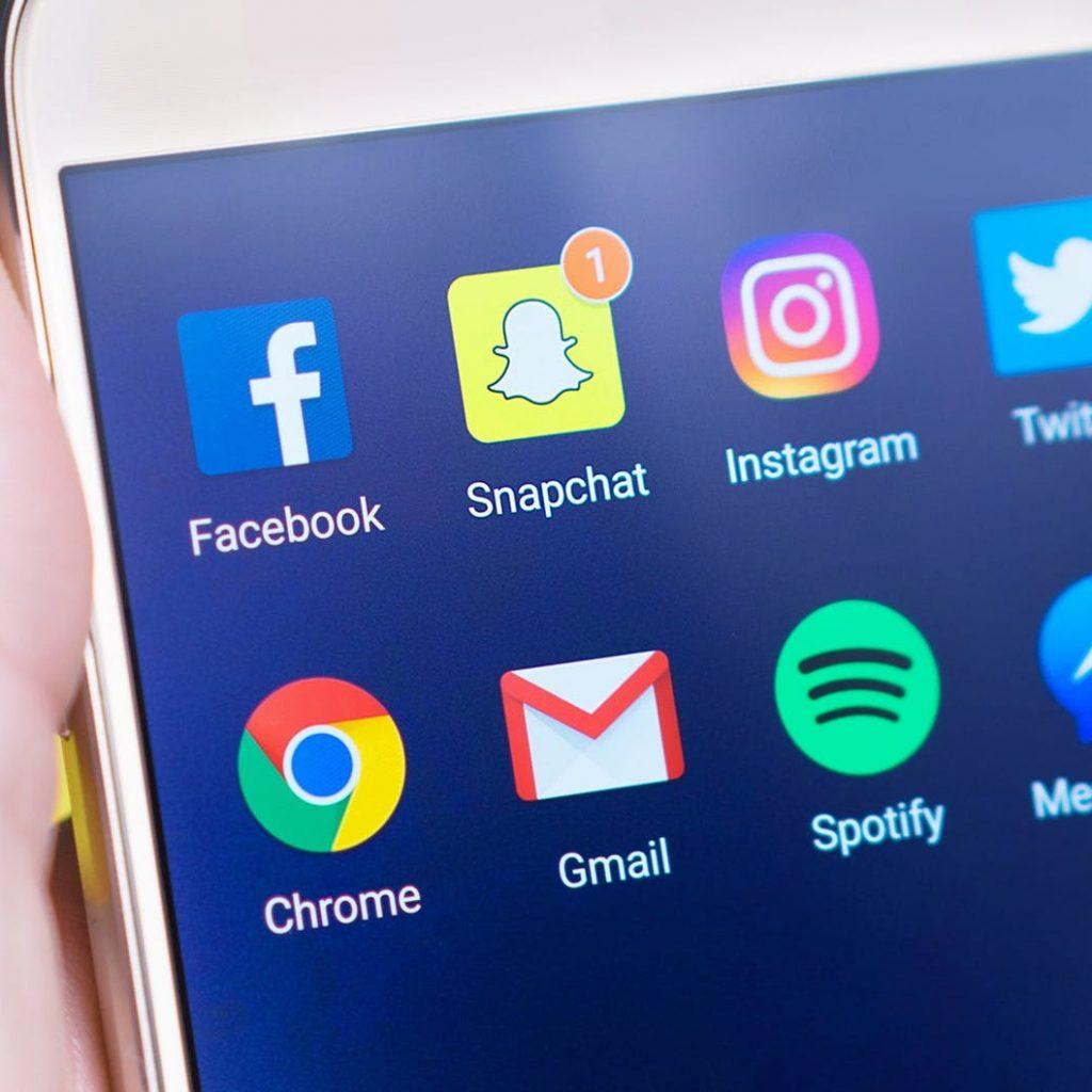 Verwendung der Social Media Plattformen